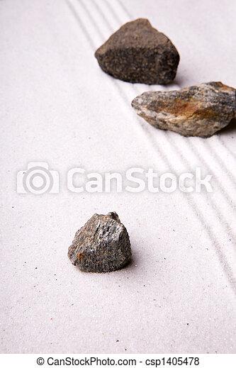 Zen Rock Garden   Csp1405478