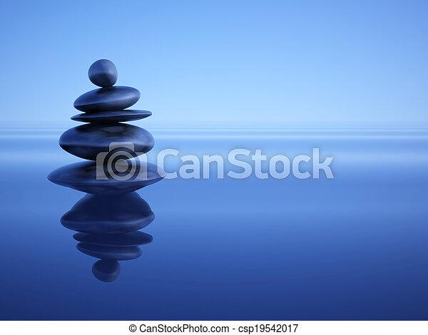 zen, steine - csp19542017