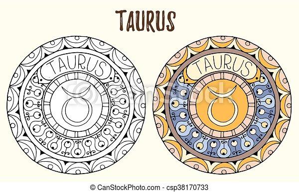 Mandalas Del Zodiaco Para Colorear
