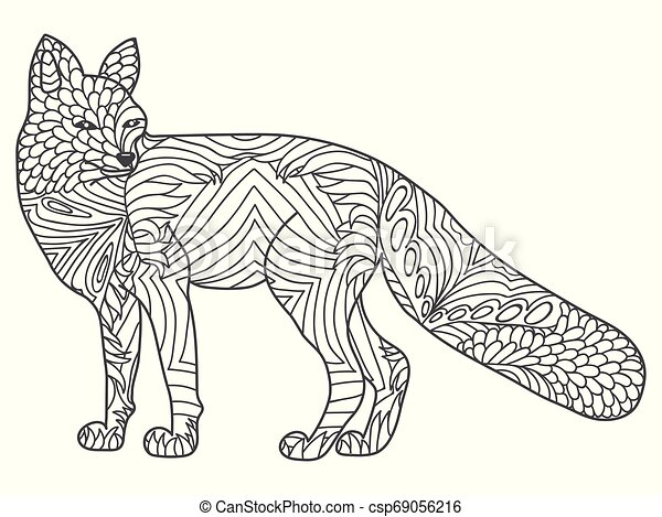 Tribal Animal Coloring Pages in 2020 | African art projects ... | 357x450