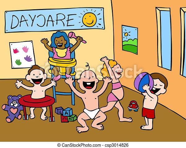 zentrieren, daycare - csp3014826