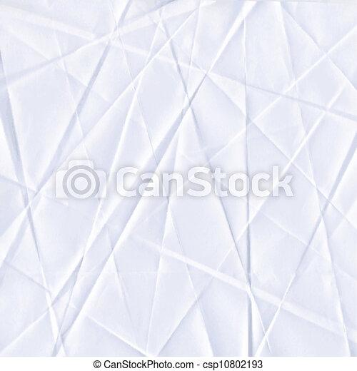 Papier zerknittert nahtlose Textur - csp10802193