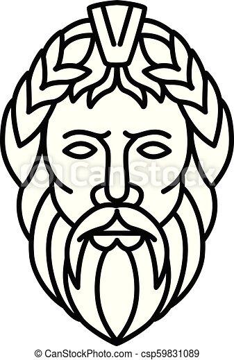 Zeus Head Frnt Mline