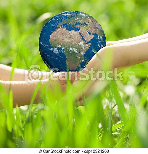 ziemia, children`s, siła robocza - csp12324260