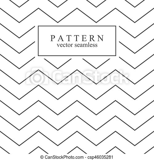 zigzag seamless minimalistic pattern template for your design