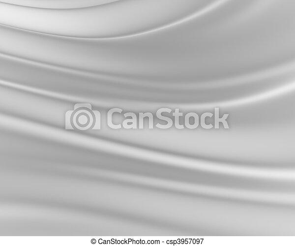 zijdeachtig, grijze , achtergrond - csp3957097
