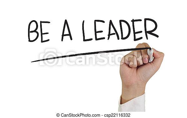 zijn, leider - csp22116332