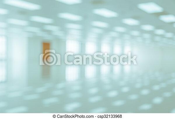 zimmer, abstrakt, hintergrund, verwischen, weißes, bild - csp32133968
