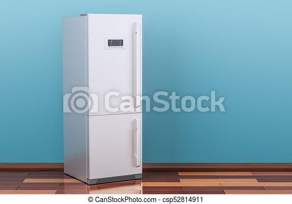 Kühlschrank Im Boden : Zimmer hölzern modern boden kühlschrank übertragung d