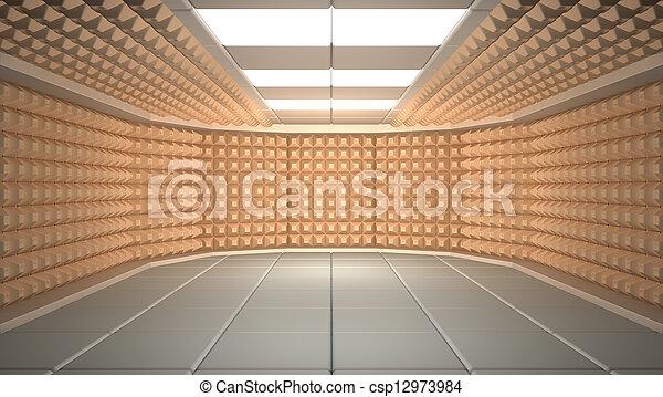 Schallschutzraum - csp12973984