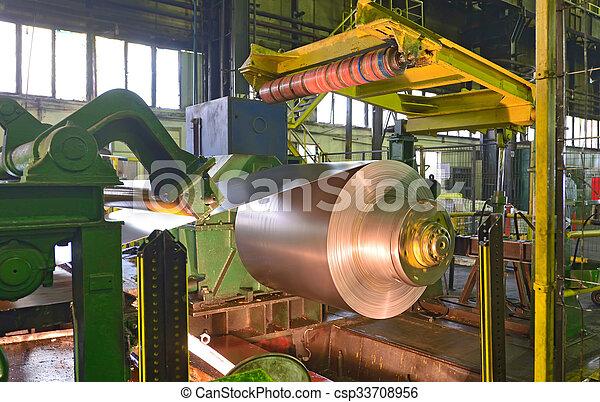 Zinc coils of steel - csp33708956