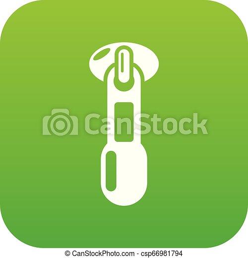 Zip icon, simple style - csp66981794