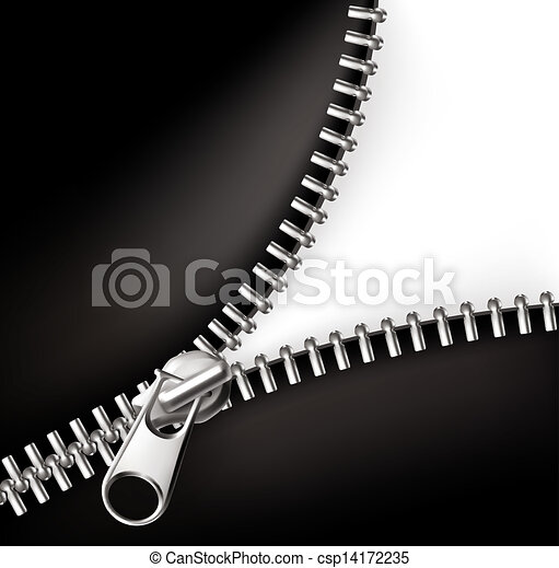 Zipper, vector - csp14172235