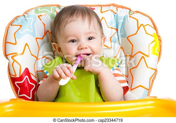 Baby Zitten Stoel.Zittende Lepel Kind Baby Stoel Vrolijke Zittende Vrolijk
