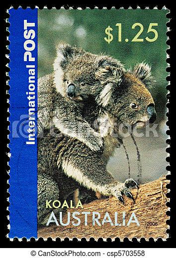 znaczek pocztowy - csp5703558