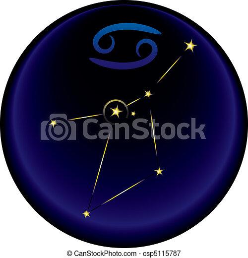 Zodiac Cancer Sign - csp5115787