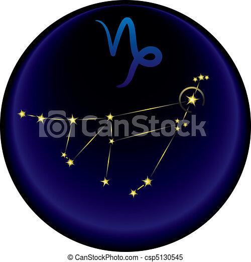 Zodiac Capricorn Sign - csp5130545