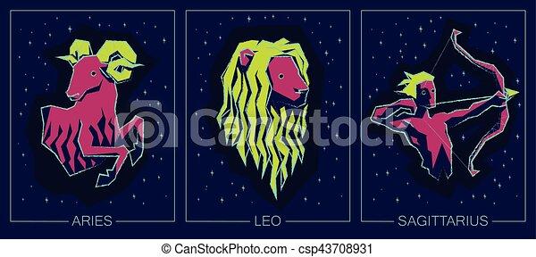 Zodiac Fire Signs  Aries, Leo, Sagittarius