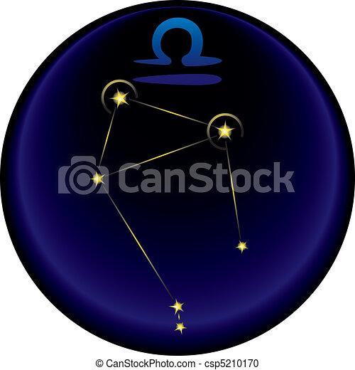 Zodiac Libra Sign - csp5210170
