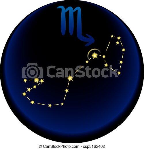 Zodiac Scorpio Sign - csp5162402