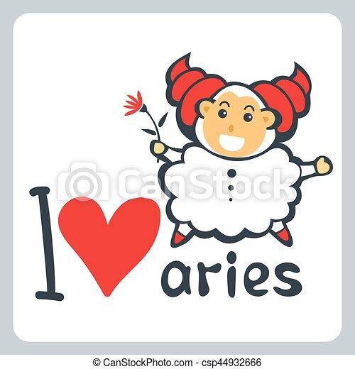 Zodiac sign Aries - csp44932666