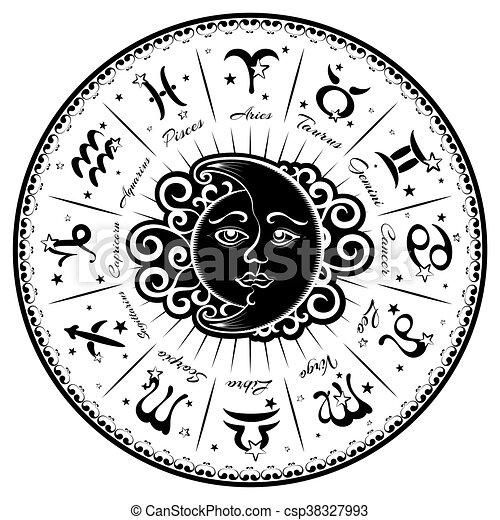 Zodiac signs - csp38327993