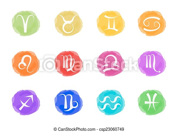 zodiac signs - csp23060749