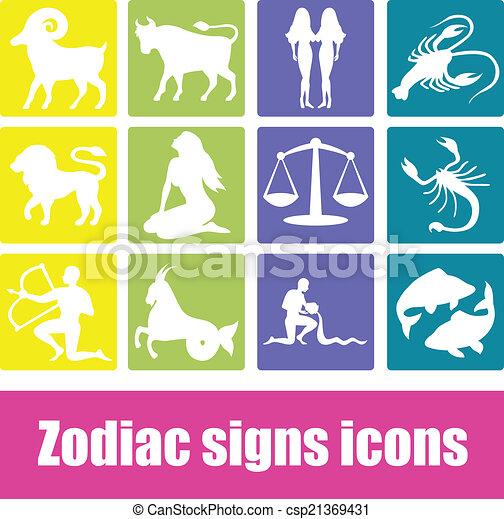 Zodiac signs - csp21369431