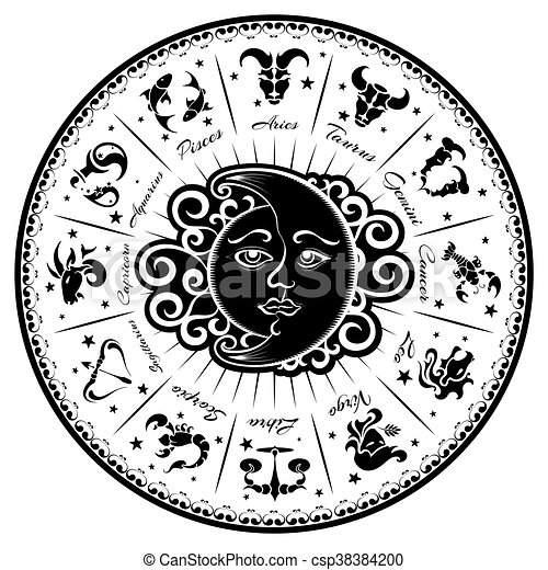 Zodiac signs - csp38384200