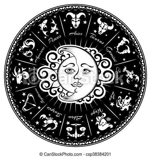 Zodiac signs - csp38384201