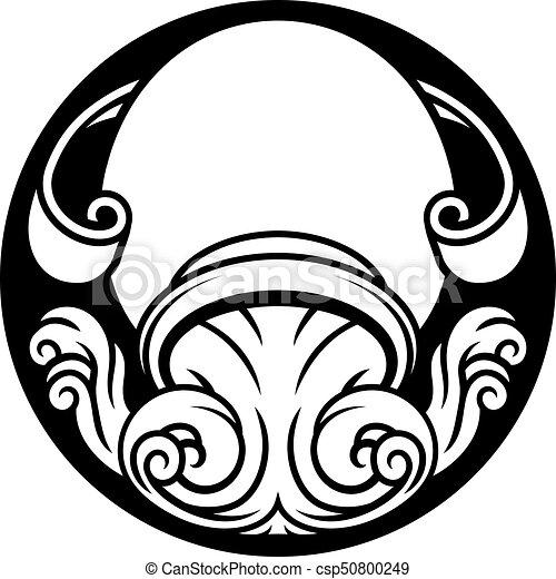 Disegno Acquario Segno Zodiacale.Zodiaco Acquario Segno Oroscopo Astrologia Brocca Oroscopo