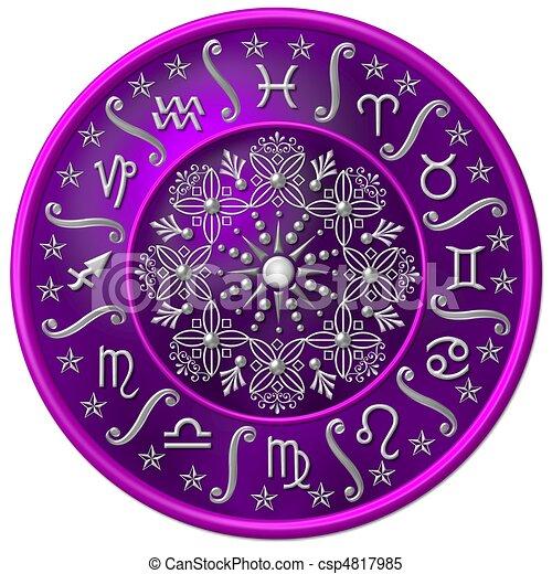 zodiaque, disque - csp4817985