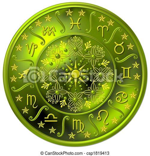 zodiaque, disque - csp1819413