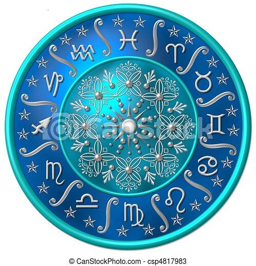 zodiaque, disque - csp4817983