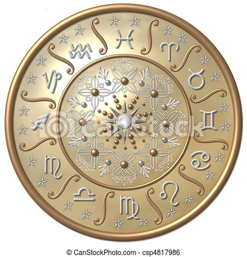 zodiaque, disque - csp4817986
