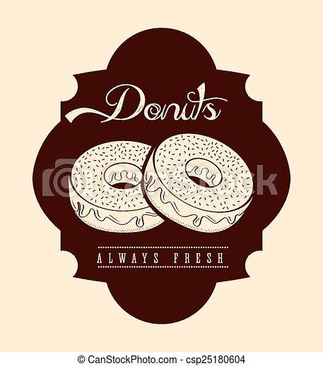 zoet, donuts - csp25180604