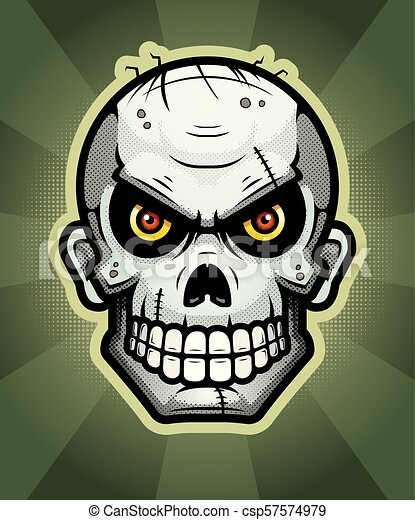 Zombie Illustration - csp57574979