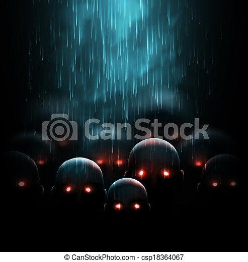 Zombie apocalypse - csp18364067