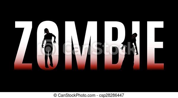 Zombie - csp28286447
