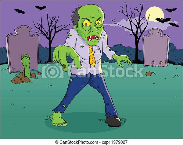 zombie - csp11379027