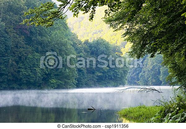 zomer, meer, morgen - csp1911356