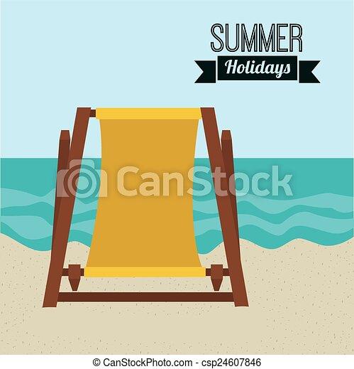 zomer, ontwerp - csp24607846