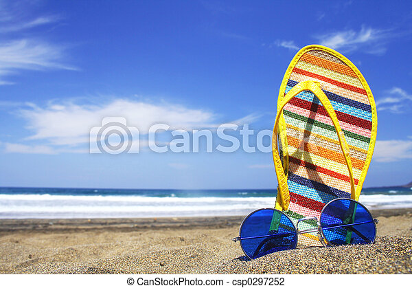 zomer, scène - csp0297252