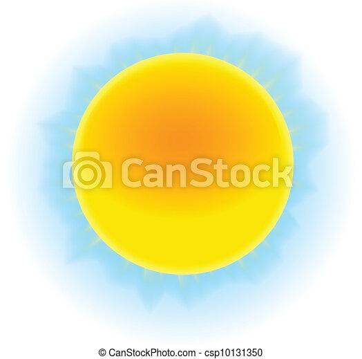 zon, beeld - csp10131350