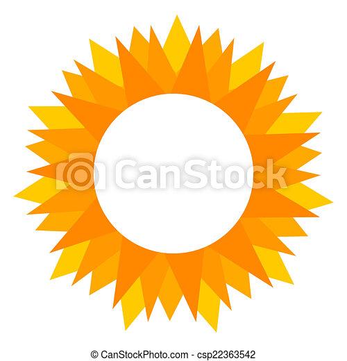 zon, etiket - csp22363542