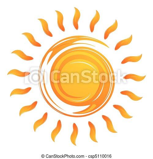 zon, het verwarmen - csp5110016