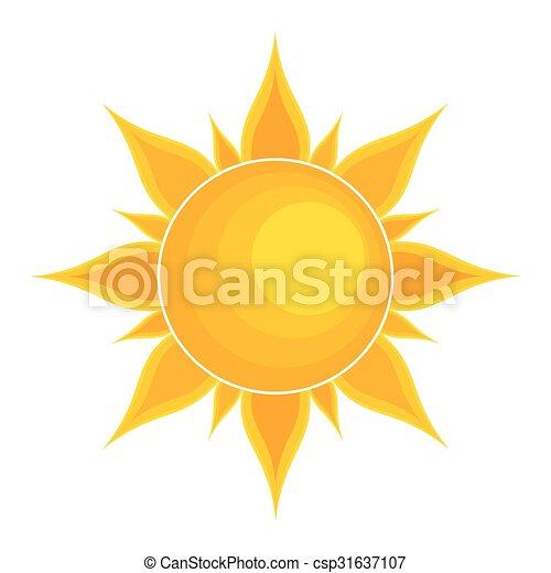 zon, illustratie - csp31637107