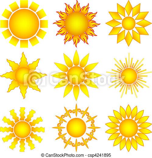 zon stel - csp4241895