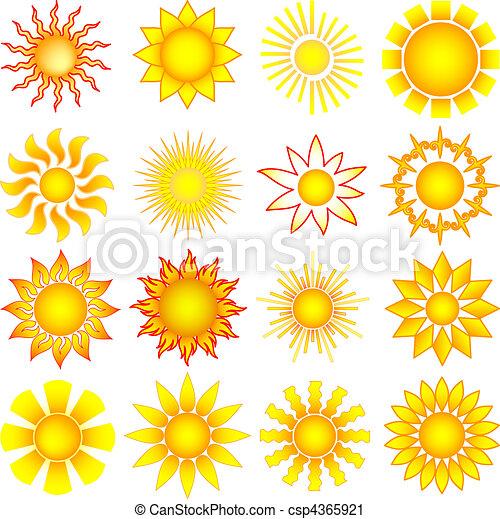 zon stel - csp4365921