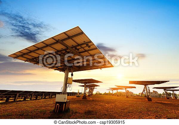 zonnepaneel - csp19305915